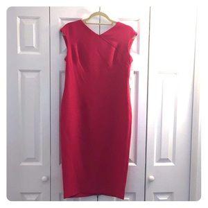 Jones New York sleeveless midi sheath dress